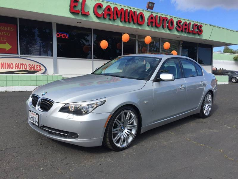 2010 BMW 5 SERIES 535I silver m pkg  exhaust - dual tip door handle color - body-color exhaust