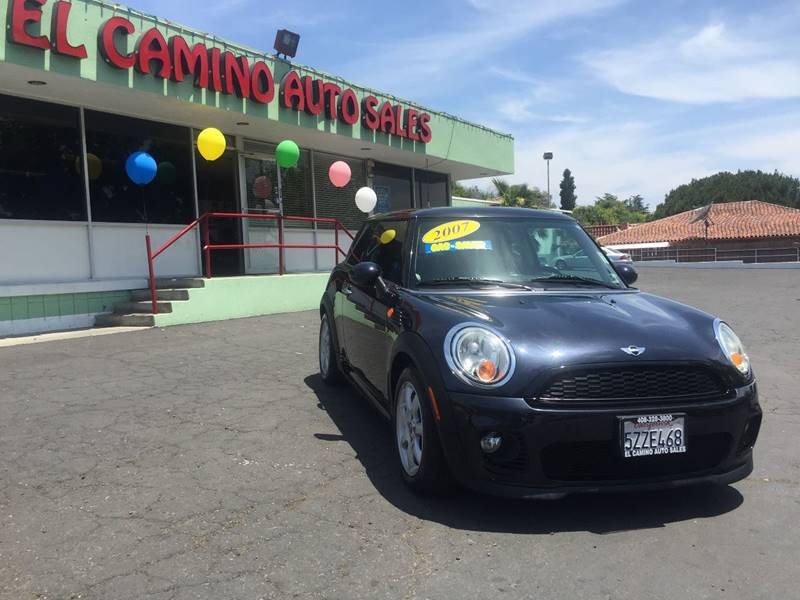 2007 MINI COOPER BASE 2DR HATCHBACK charcoal very clean car cargo tie downs grille color - c