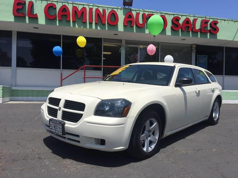 2005 DODGE MAGNUM SE 4DR WAGON white air conditioning alarm power steering power windows powe