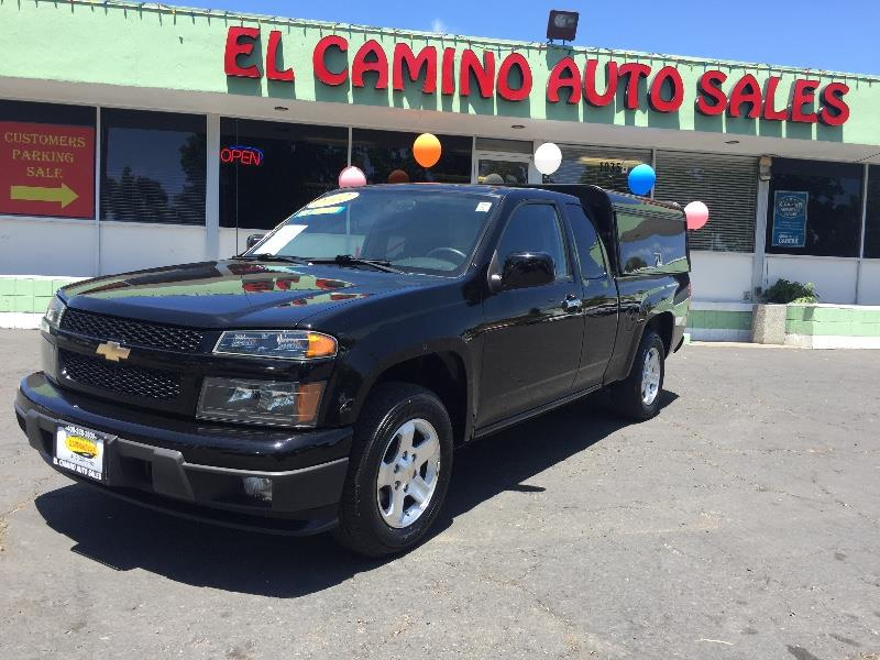 2012 CHEVROLET COLORADO LT 4X2 4DR EXTENDED CAB W1LT black great quality utility bed with plenty