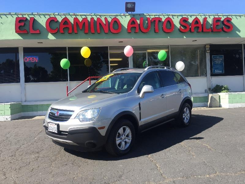 2008 SATURN VUE XE-V6 AWD 4DR SUV silver air conditioning alarm power steering power windows
