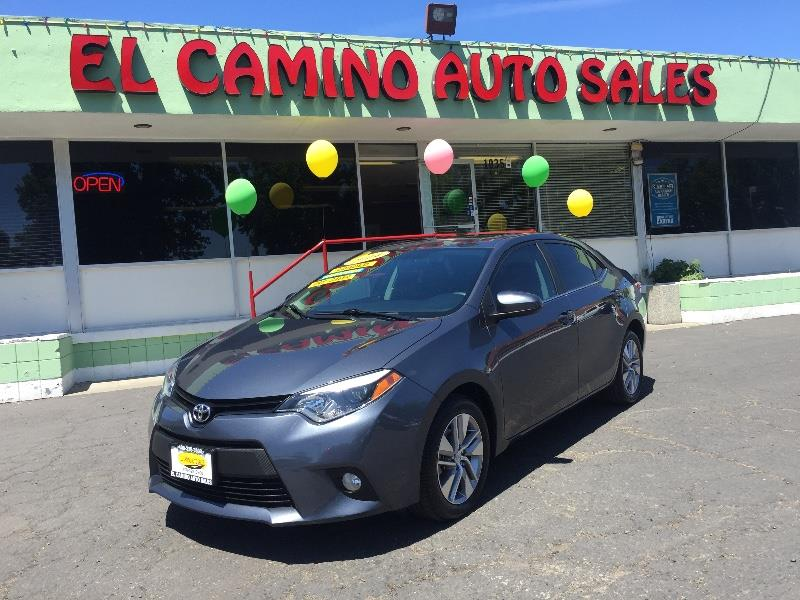 2014 TOYOTA COROLLA ECO CVT blue gas mileage 30 mpg city 42 mpg highway abs air conditioning a
