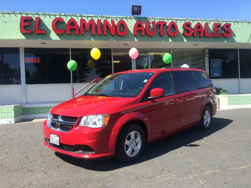 2012 DODGE GRAND CARAVAN SXT 4DR MINI VAN red great family vehicle at a great price air condition