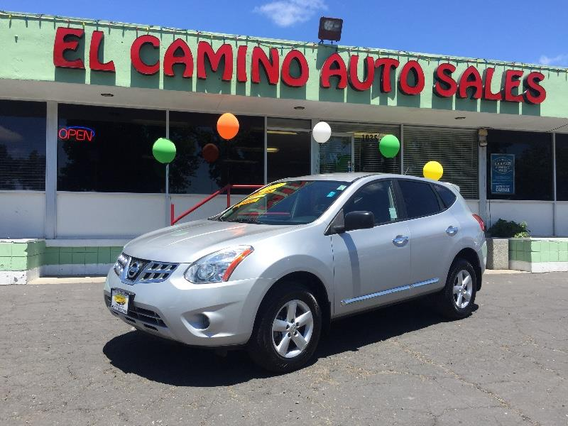 2012 NISSAN ROGUE S AWD silver great on gas good looking good space air conditioning alarm po