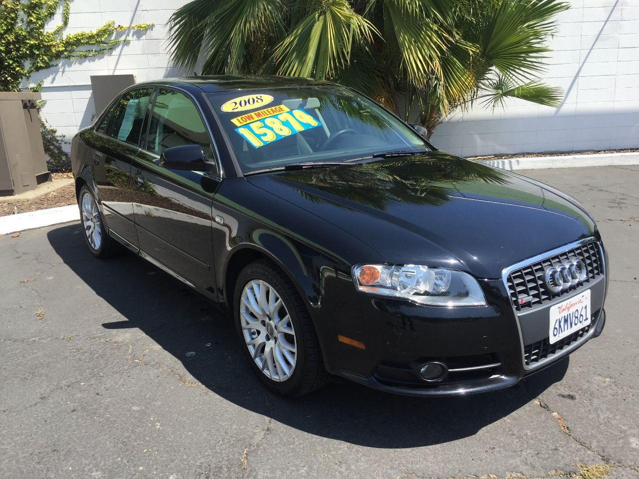 2008 AUDI A4 20T SPECIAL ED black german engineering at its best this a4 black pristine vehicl