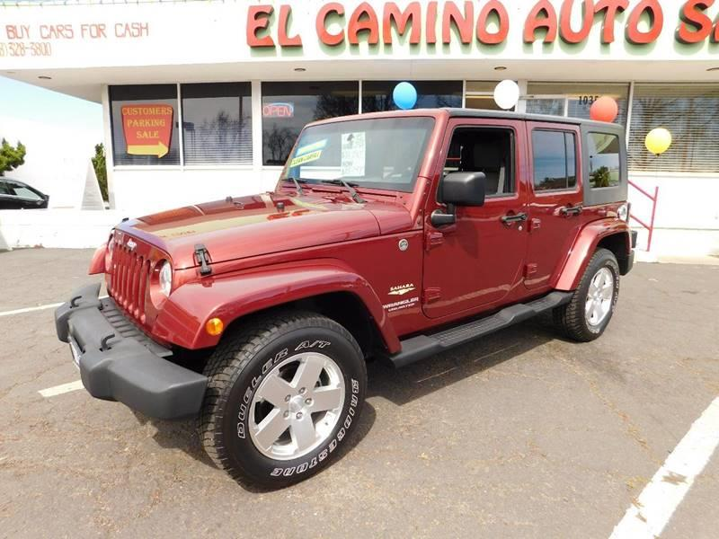 2008 Jeep Wrangler Unlimited 4x4 Sahara 4dr SUV w/Side Airbag Package - Sunnyvale CA