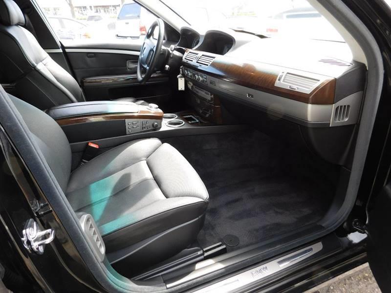 2008 BMW 7 Series 750i 4dr Sedan - Sunnyvale CA
