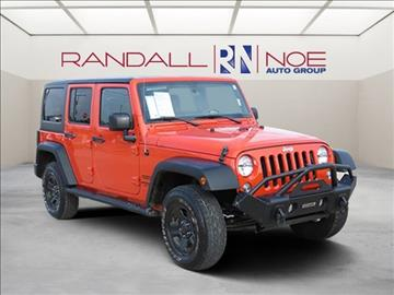 2015 Jeep Wrangler Unlimited for sale in Terrell, TX