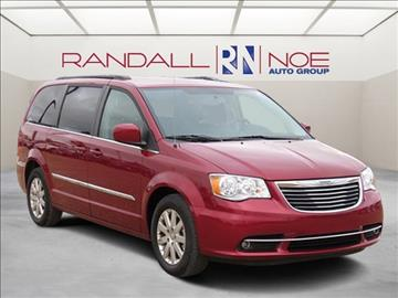 2016 Chrysler Town and Country for sale in Terrell, TX