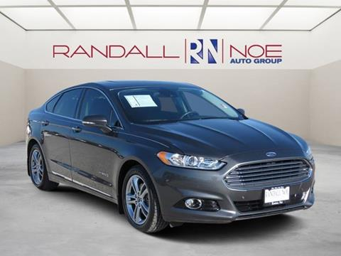 2015 Ford Fusion Hybrid for sale in Terrell, TX