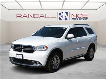 2017 Dodge Durango for sale in Terrell, TX