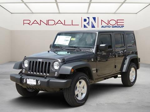 2017 Jeep Wrangler Unlimited for sale in Terrell, TX