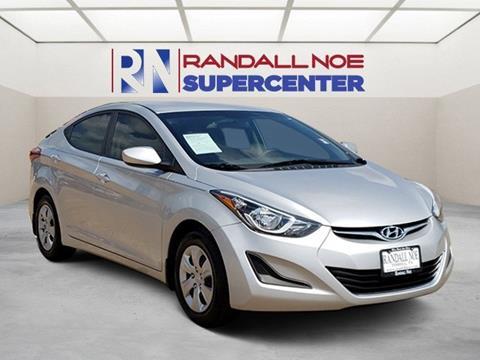 2016 Hyundai Elantra for sale in Terrell, TX
