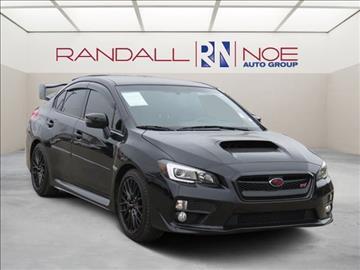 2015 Subaru WRX for sale in Terrell, TX