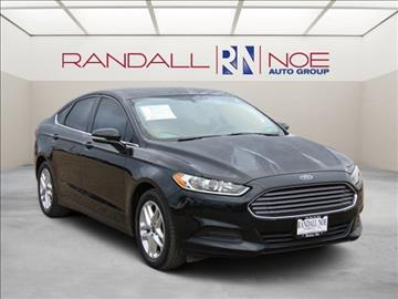 2014 Ford Fusion for sale in Terrell, TX