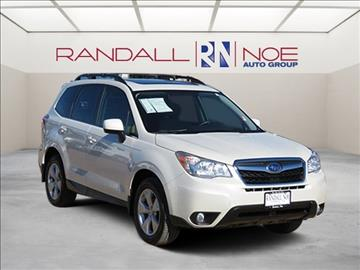 2015 Subaru Forester for sale in Terrell, TX