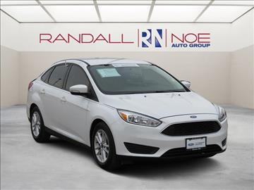 2015 Ford Focus for sale in Terrell, TX