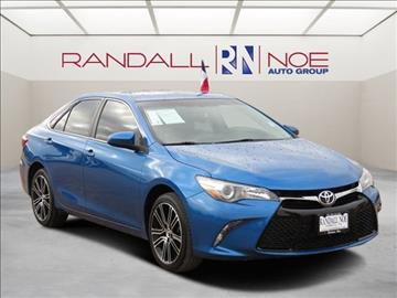 2016 Toyota Camry for sale in Terrell, TX