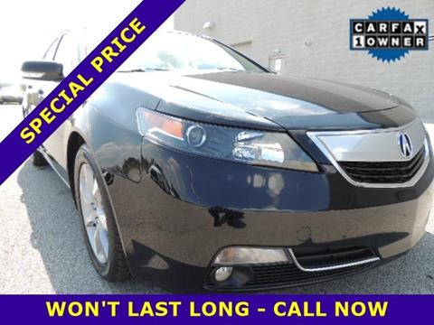 2012 Acura TL for sale in Merrillville, IN
