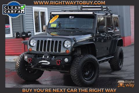2010 Jeep Wrangler Unlimited for sale in Southborough, MA