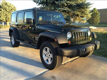2011 Jeep Wrangler Unlimited for sale in Frederick, CO
