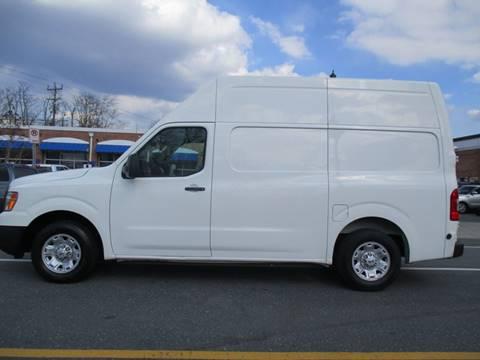 2013 Nissan NV Cargo for sale in Rockville, MD