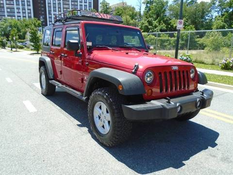 2008 Jeep Wrangler Unlimited for sale in Rockville, MD