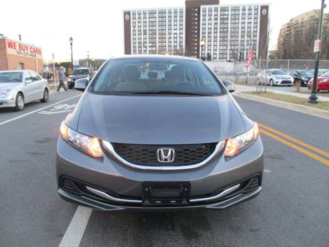 2013 Honda Civic for sale in Rockville, MD