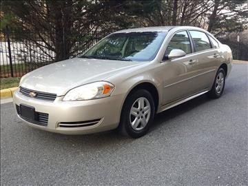 2010 Chevrolet Impala for sale in Rockville, MD