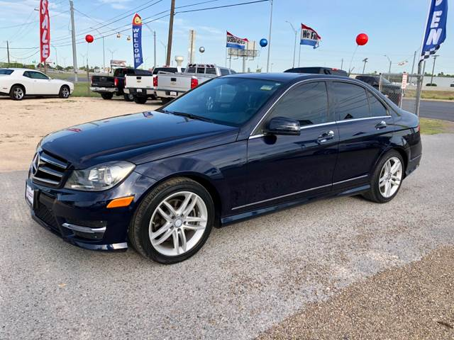 2014 Mercedes Benz C Class For Sale At CAMARGO MOTOR In Mercedes TX