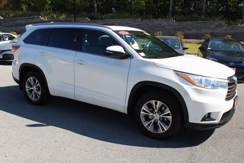 2015 Toyota Highlander for sale in Newburgh NY