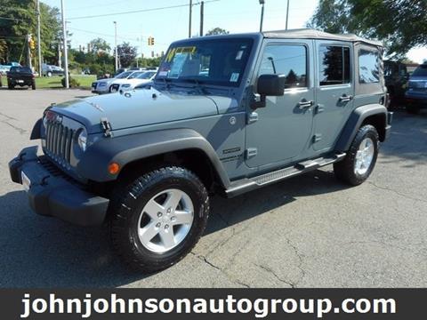 2014 Jeep Wrangler Unlimited for sale in Rockaway, NJ