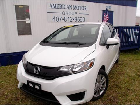 2017 Honda Fit for sale in Orlando, FL