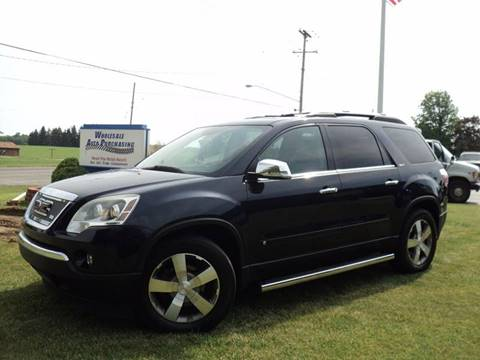 2009 GMC Acadia for sale in Frankenmuth, MI