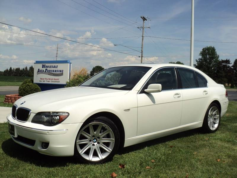 2006 BMW 7 Series 750i In Frankenmuth MI - Wholesale Auto Purchasing