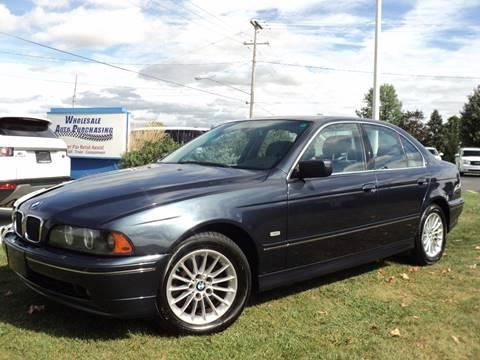 2002 BMW 5 Series for sale in Frankenmuth, MI