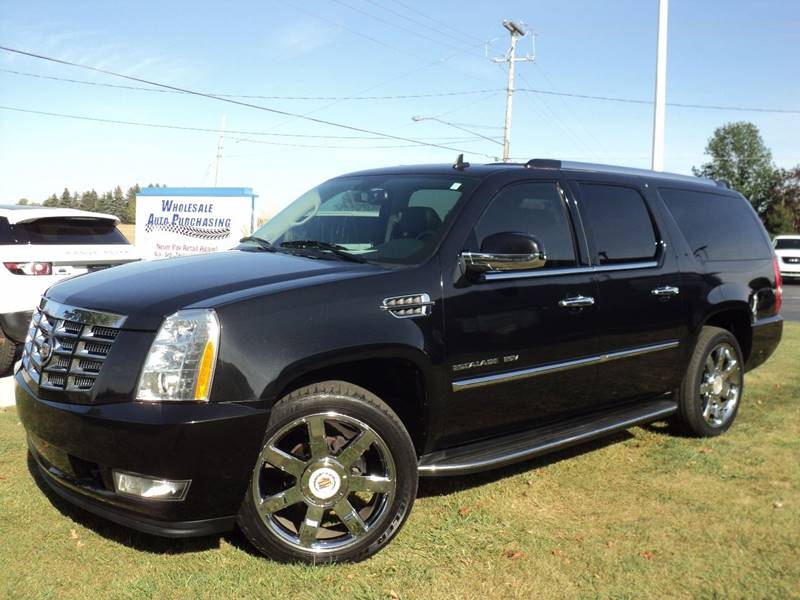2011 cadillac escalade esv luxury in frankenmuth mi wholesale auto purchasing. Black Bedroom Furniture Sets. Home Design Ideas