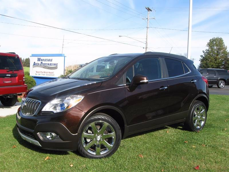 2014 Buick Encore Leather In Frankenmuth MI - Wholesale Auto Purchasing