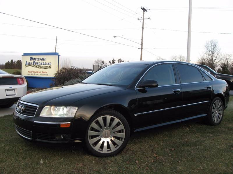 2005 Audi A8 L Quattro In Frankenmuth Mi Wholesale Auto