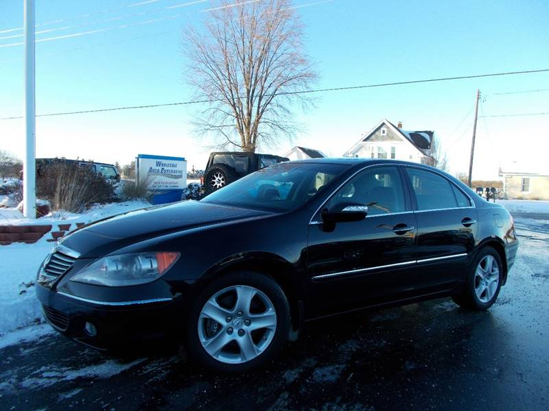 Acura RL SHAWD WNavi WTech In Frankenmuth MI Wholesale - Acura rl 2006 for sale