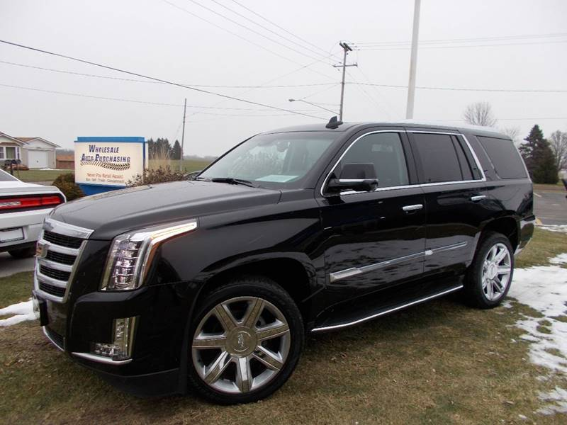 2016 cadillac escalade premium collection in frankenmuth mi wholesale auto purchasing. Black Bedroom Furniture Sets. Home Design Ideas