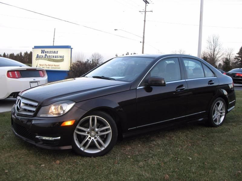 2012 Mercedes Benz C Class For Sale At Wholesale Auto Purchasing In  Frankenmuth MI