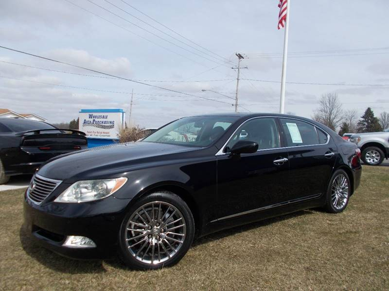 2007 Lexus LS 460 For Sale At Wholesale Auto Purchasing In Frankenmuth MI