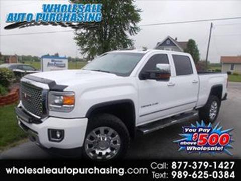 2016 GMC Sierra 2500HD for sale in Frankenmuth, MI
