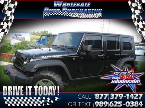 2010 Jeep Wrangler Unlimited for sale in Frankenmuth, MI