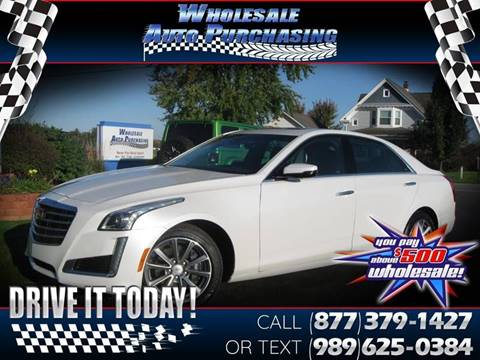 2018 Cadillac CTS for sale in Frankenmuth, MI