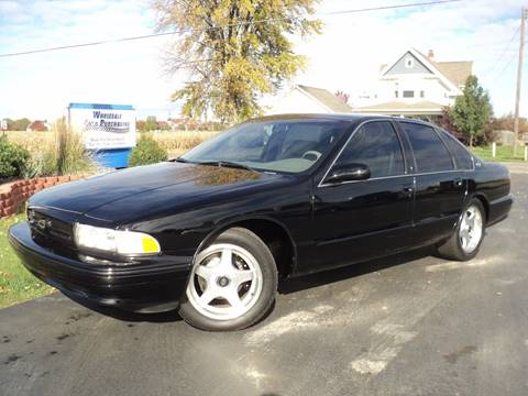 1996 Chevrolet Impala for sale in Frankenmuth, MI