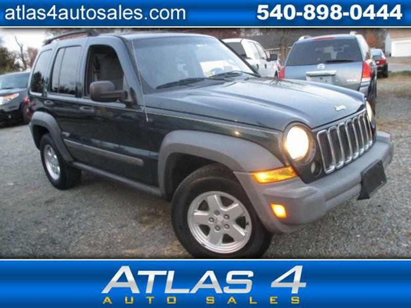 2005 Jeep Liberty For Sale At Atlas 4 Auto Sales In Fredericksburg VA