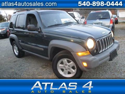 jeep liberty for sale in fredericksburg va. Black Bedroom Furniture Sets. Home Design Ideas