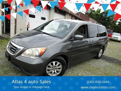 2008 Honda Odyssey for sale in Fredericksburg, VA